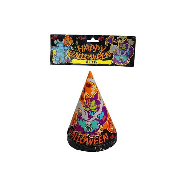 8 pack witch party hats | bulk buys