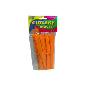 24pc orange place keepers | bulk buys
