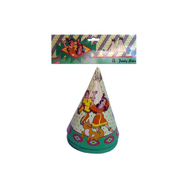 indian 8 party hats | bulk buys
