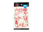 Red floral electrical plate | bulk buys