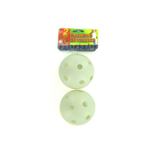 2 pack plastic practice softball | bulk buys
