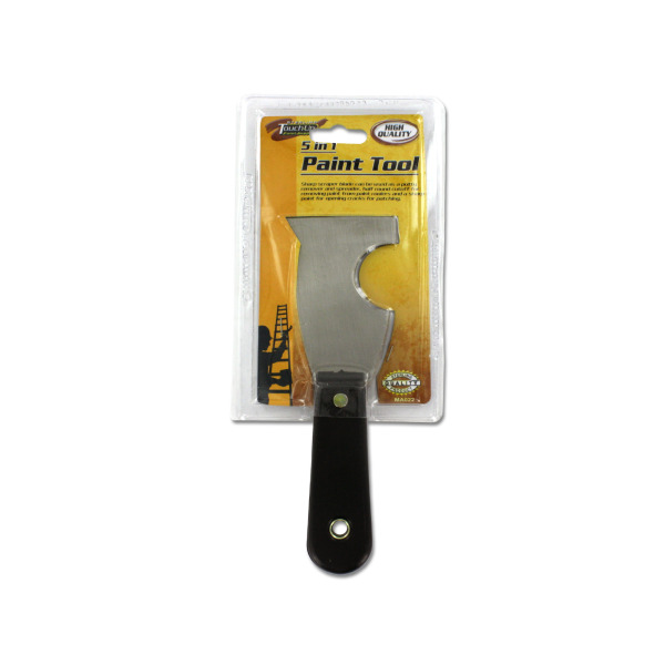 Five-in-one paint tool   sterling