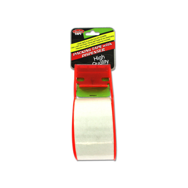 Packing tape with dispenser   sterling