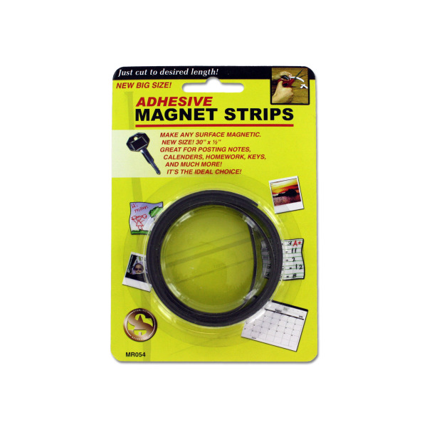 Adhesive magnet strips | sterling