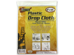 Drop cloth with disposable gloves | bulk buys