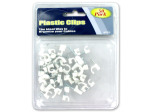 Plastic Cable Clips | bulk buys