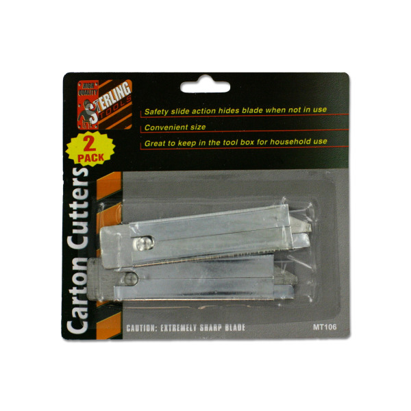2 Pack carton cutters | sterling