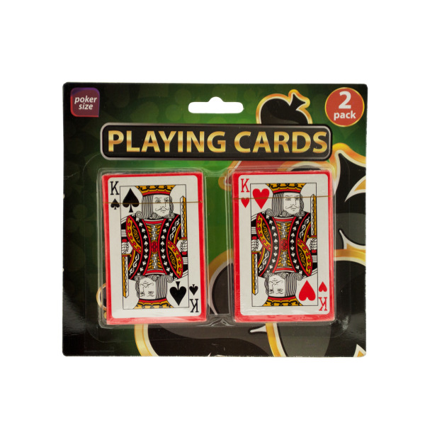 Plastic Coated Playing Cards | bulk buys
