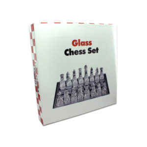 Glass chess set | bulk buys