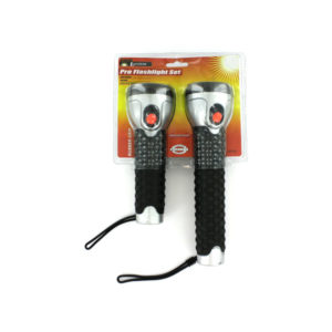 2 Pack professional flashlight set | sterling