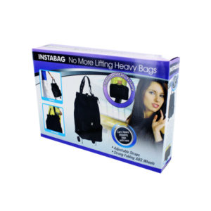 Instant traveling and shopping bag