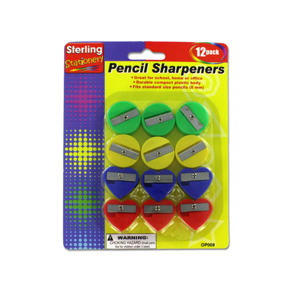 Fun Shape Pencil Sharpeners | sterling