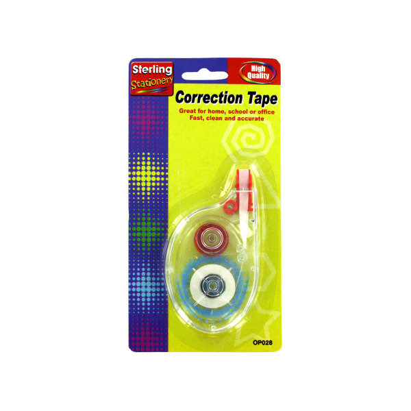 Correction tape | sterling