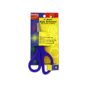 5 Inch Blunt Tip Kids Scissors | sterling