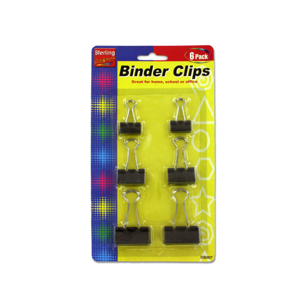 Binder clips | sterling