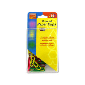 Colored paper clips | sterling