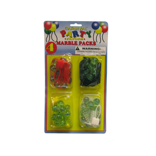 Marble bag party favors | carnival party favors