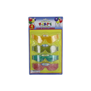4 Pack kids party favor sunglasses | carnival party favors