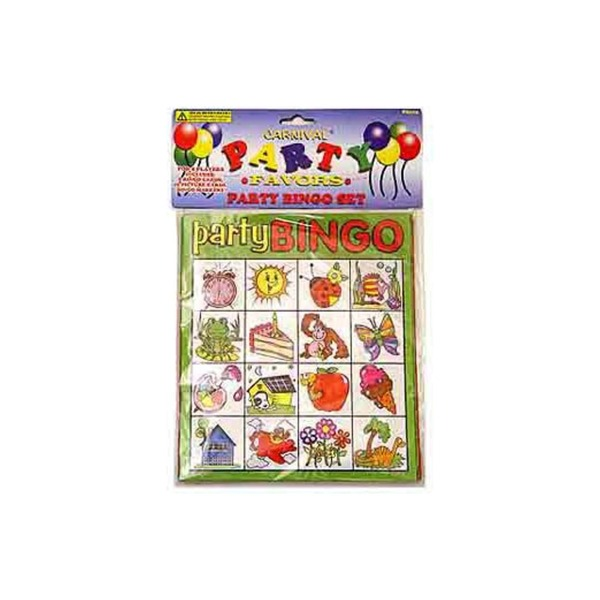 Bingo party game set | carnival party favors