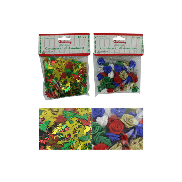 Holiday Christmas Confetti Assortment | bulk buys