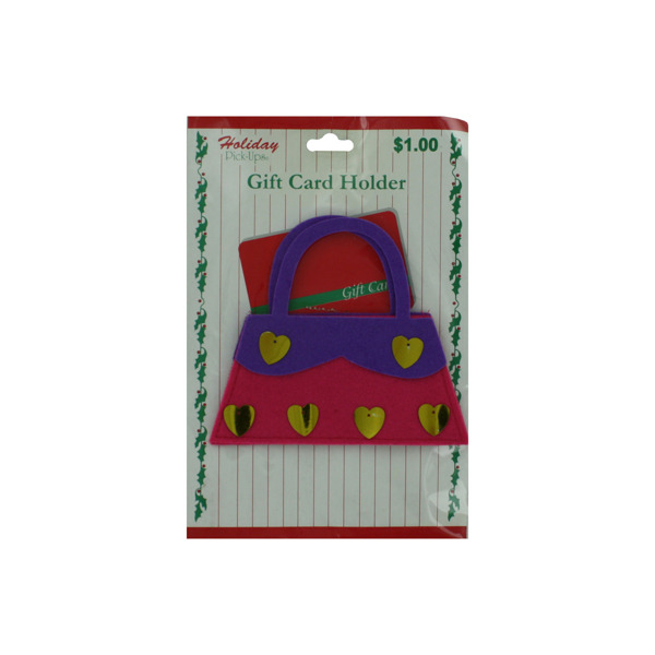 Holiday felt gift card holder | bulk buys